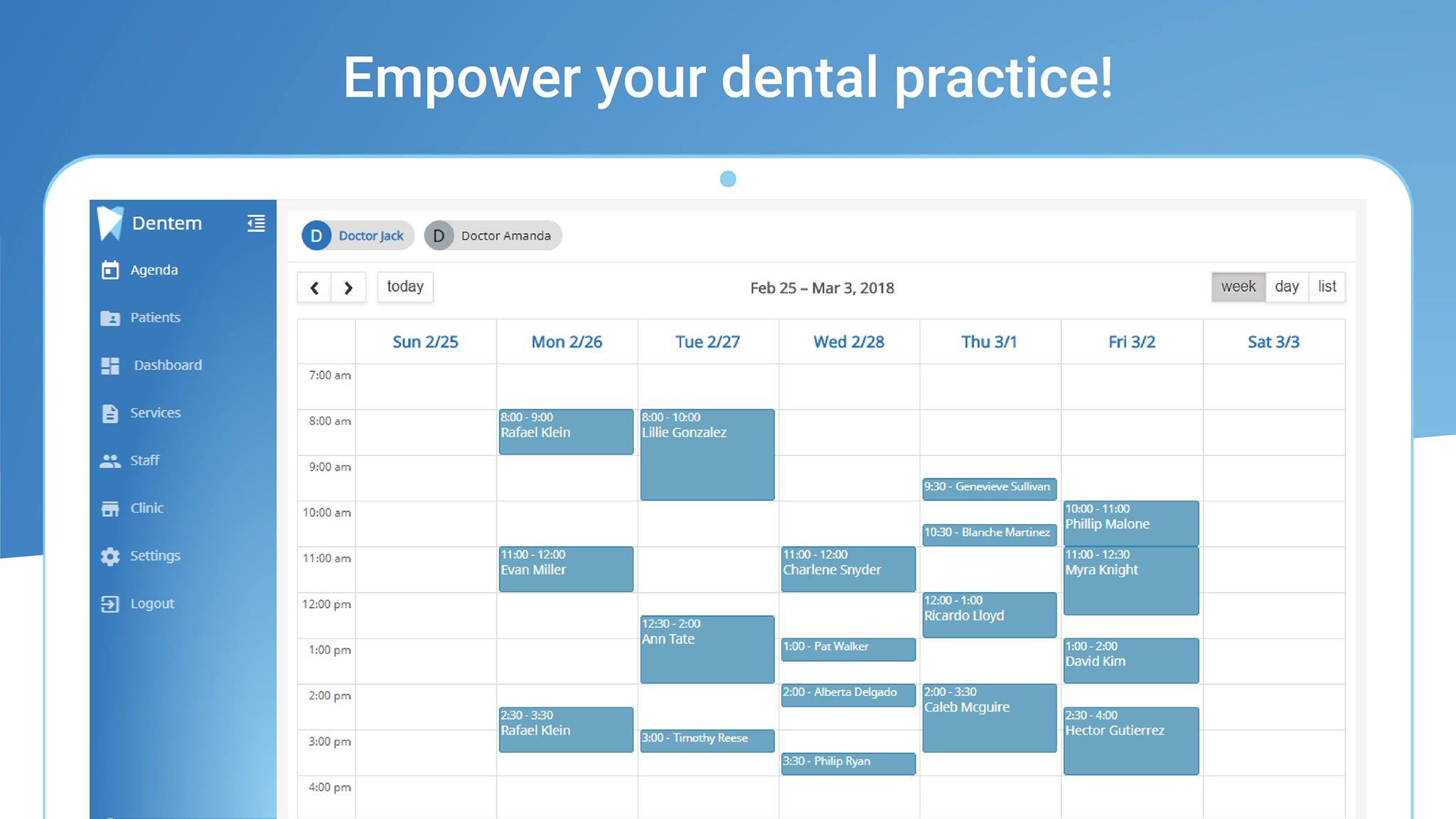 dentem dental practice management software
